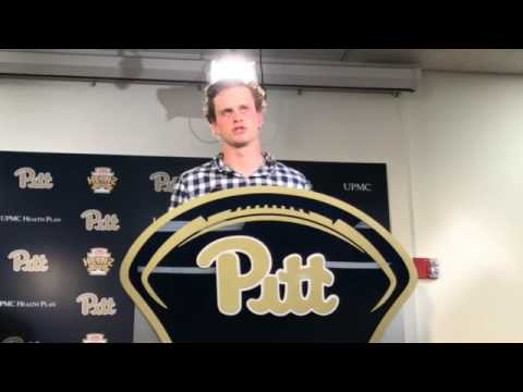 Pitt QB Max Browne talks after spring game