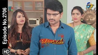 Manasu Mamata | 21st September 2019  | Full Episode No 2706 | ETV Telugu