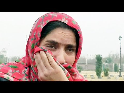 Wife of abducted Kulgam youth ask terrorists to release him