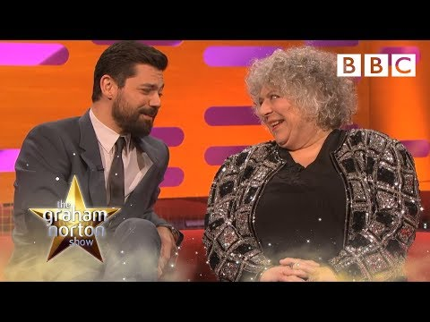 Miriam Margolyes doesn't know who the other guests are  The Graham Norton : Episode 17  BBC