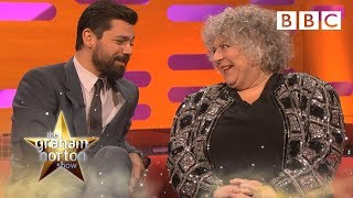 Miriam Margolyes doesn't know who the other guests are 😬 | The Graham Norton Show - BBC