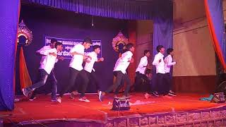 Funny & Lazy dance by Kawan and team at S.V.H Innanje clg day