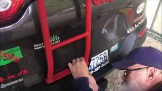 Jeep Cherokee KL Gobi Ladder Installation