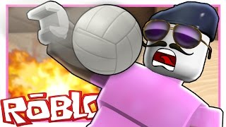 Roblox | GETTING HIT IN THE FACE WITH BALLS!!