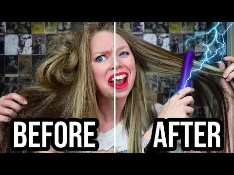 ELECTRIC DETANGLING BRUSH! - Does This Thing Really Work? thumbnail