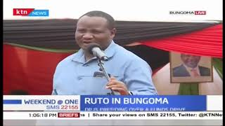 DP William Ruto attends church service in Bungoma
