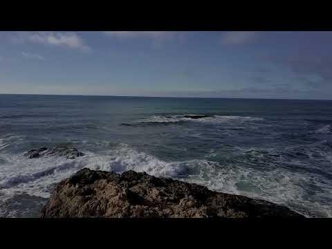 Drone over the Pacific Coast