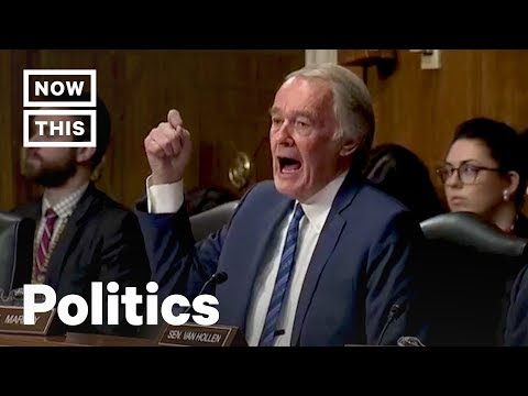 Sen. Markey Scorches EPA Nominee Andrew Wheeler on Climate Change | NowThis