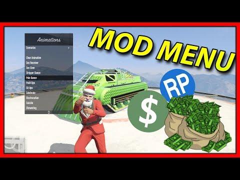 GTA 5 ONLINE - FREE MOD MENU ‼ + DOWNLOAD 1.46 Shadow Menu [ PC ] Money & RP ( GTA V ONLINE MODS )