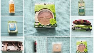 My first iHerb Haul - Natural & Paraben Free Cosmetics