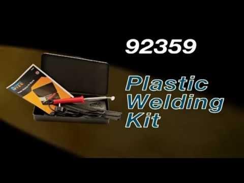 Kunststof lasset Power TEC 92359 Plastic Welding Kit