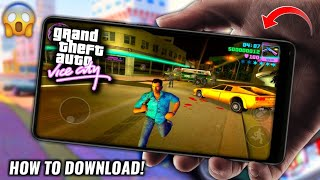 (New Link) How To Download GTA Vice City Android Game Apk+Obb No Mob.org Hindi/Urdu