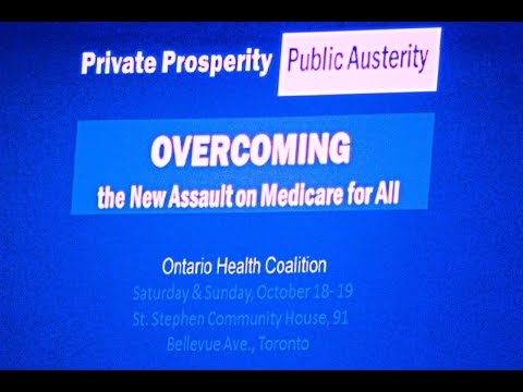 Private Affluence, Public Austerity: P3's,Economic Crisis, And Public Response