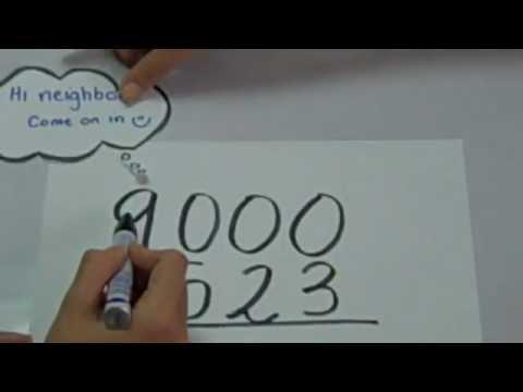 Subtraction Across Zeros \