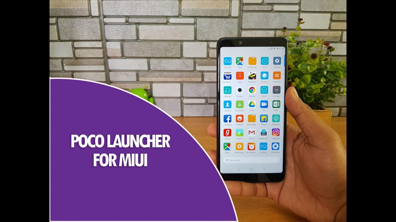 Download Poco Launcher for Xiaomi Smartphones- Hands on