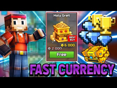 (No Hack) How To Get Fast Currency And Trophies In Pixel Gun 3D (17.7.0)