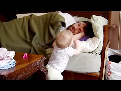 Cutest  Baby Wake Up Daddy - Funny Cute Video