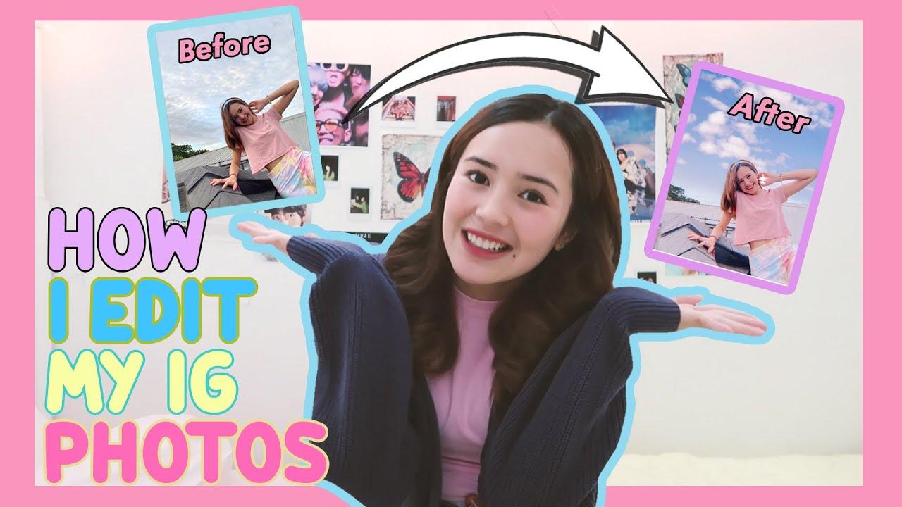 Beby Vlog #98 - HOW I EDIT MY IG PHOTOS👅