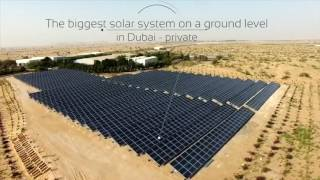 Shams Dubai - 1 MWp Solar PV System. The Largest Ground Mount Installation. solarlandtech@gmail.com