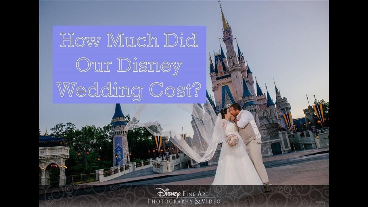 Disney Wedding Cost.How Much Did Our Disney World Wedding Cost