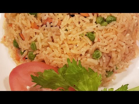 how-to-prepare-flavoured-vegetable-rice//pepper-flavored-rice//party-rice-recipe