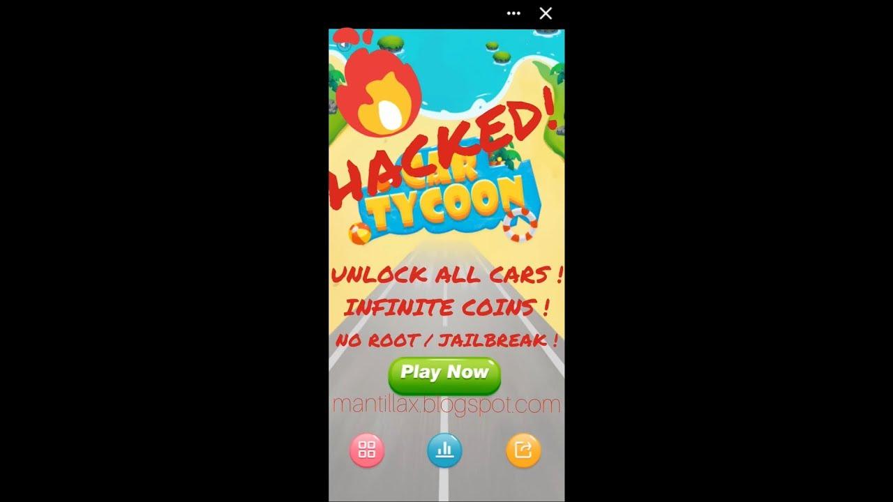 Car Tycoon Cheat/Hack (Messenger) 🔥🆕 - 100% EASY MONEY, UNLOCK ALL CARS