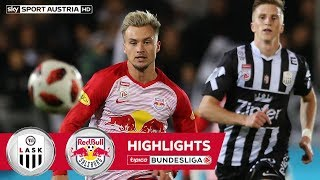 Highlights: tipico Bundesliga, 12. Runde: LASK - FC Red Bull Salzburg 3:3