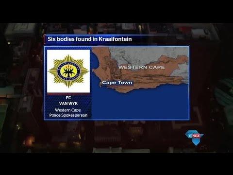Six people found dead in Joostenbergvlakte in Kraaifontein, Western Cape