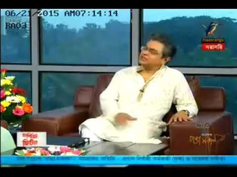 Interview on MUSLIN PROJECT by Saiful Islam, CEO - Drik on Maasranga TV, 22nd June 2015