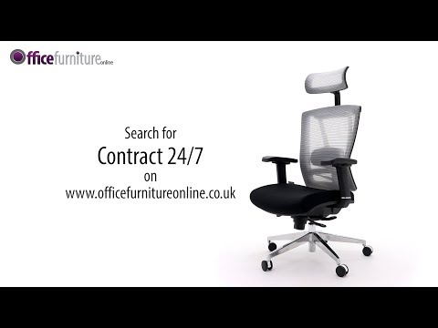 Contract 24/7 Posture Mesh Office Chair Features And User Guide - OfficeFurnitureOnline.co.uk