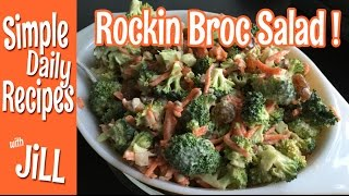 Rockin Broccoli Salad You'll Want To Eat Everyday