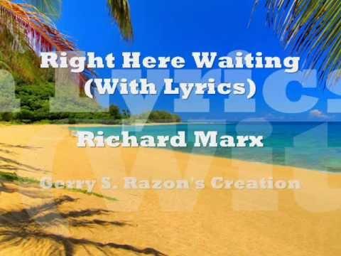 Right Here Waiting (With Lyrics) - Richard Marx