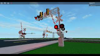 Me Filming The Railroad Crossing with New Updates, Part 1 (ROBLOX)