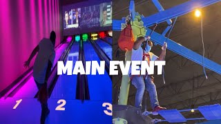 Family Fun Day AT Main Event (VLOG #2)🔥🤩