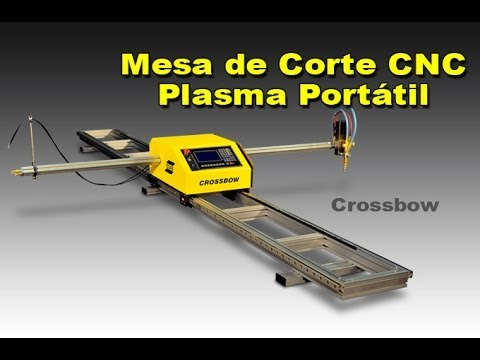 Mesa de corte CNC plasma e oxicorte portatil - Esab Crossbow