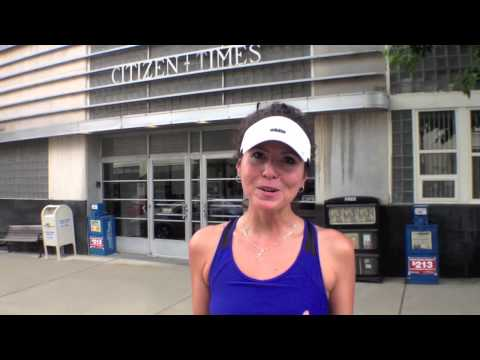 Asheville Citizen-Times Half Marathon Start/finish