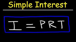 Simple Interest Formula