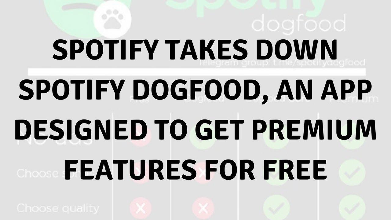 Daily Tech News Spotify Takes Down Spotify Dogfood Youtube