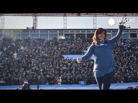Cristina Kirchner y Unidad Ciudadana en Mar del Plata #lavozdelamayoria