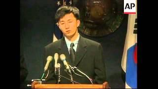 USA: WASHINGTON: 2 NORTH KOREAN DEFECTORS HOLD PRESS CONFERENCE