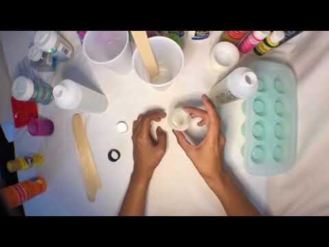 Beginner resin tutorial part 1 glitter holographic shot glasses diy
