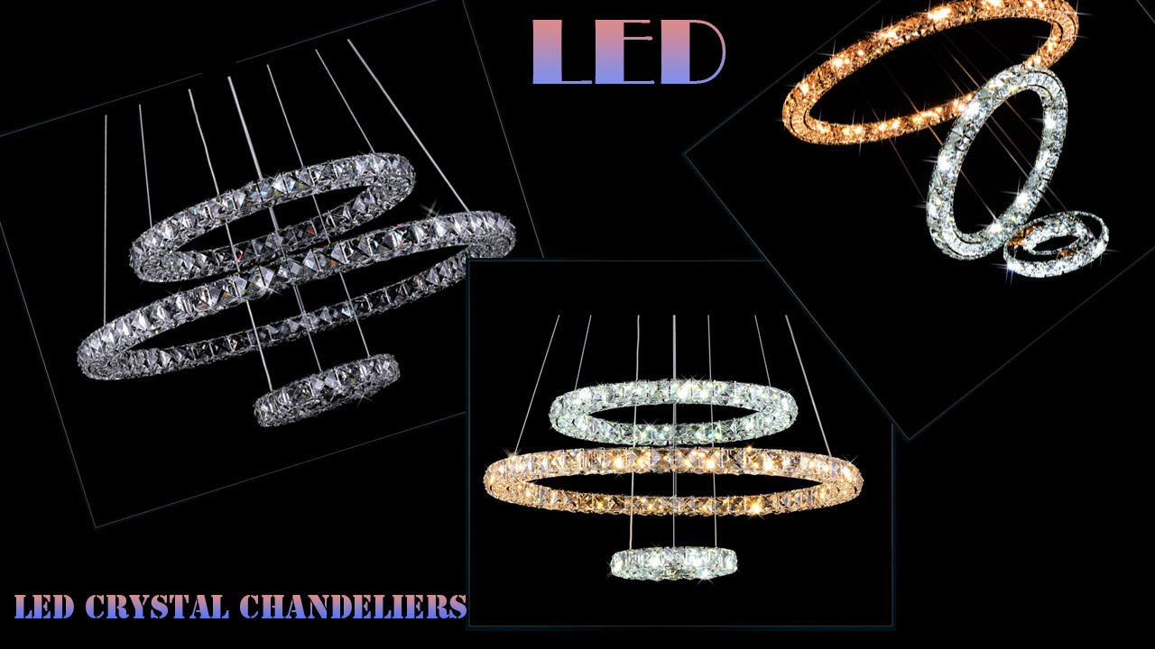 Transformers LED crystal chandeliers Pendant Light Lamps. Variety ...