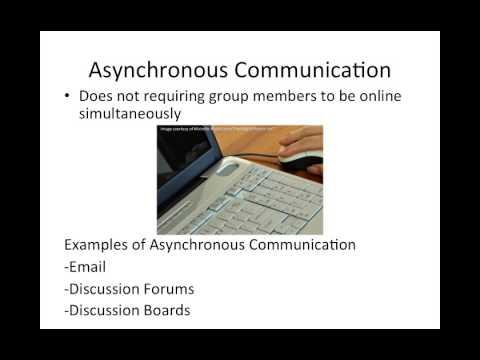 Asynchronous communication