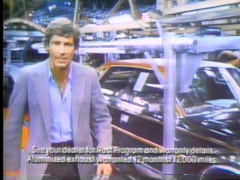 American Motors Car commercial 1980