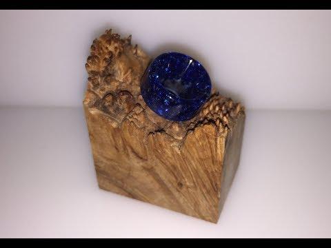 blue glitter resin 810 drip tip