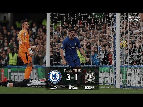 Download Chelsea vs Newcastle 3-1 All Goal & Highlight Extended (EPL) 2017/18