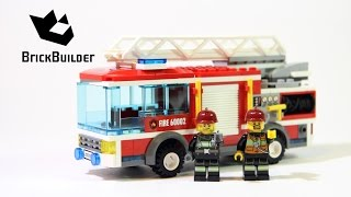 Lego City 60002 Fire Truck - Lego Speed Build