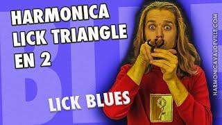 Harmonica lick Blues Triangle en 2