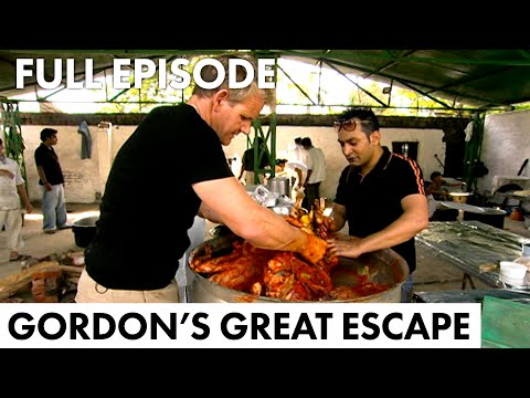 Gordon Ramsay Learns How To Make Biryani   Gordon's Great Escape