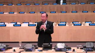 Secretary-General speaks to United Nations interns (Full version)